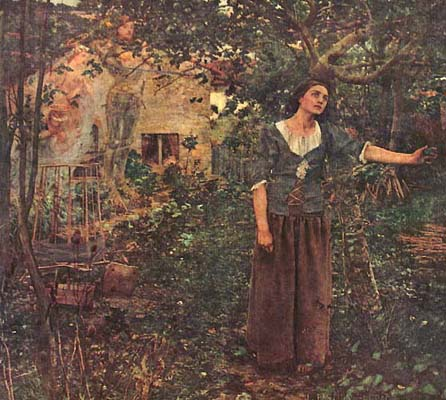Jules Bastien-Lepage's Painting of Joan of Arc